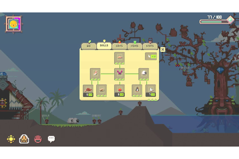 KWAAN pixel adventure game - PC Mac Mobile - YouTube