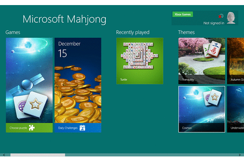 Microsoft Revamps its old Games in Windows 8, Windows 10