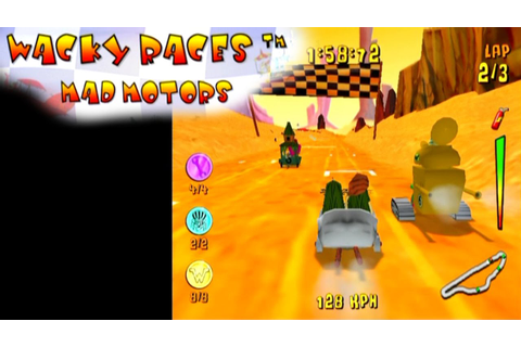 Wacky Races: Mad Motors ... (PS2) - YouTube