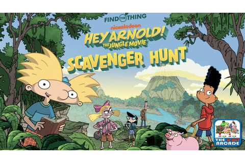 Hey Arnold! The Jungle Movie: Scavenger Hunt - Adventure ...
