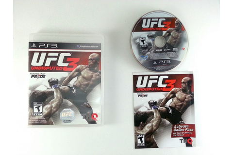 UFC Undisputed 3 game for Playstation 3 (Complete) | The ...
