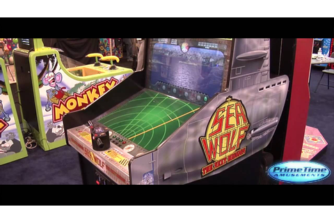 Sea Wolf - Redemption Arcade Game - PrimeTime Amusements ...