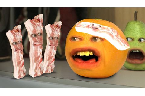 Annoying Orange - Bacon Invaders (ft. Harley from ...
