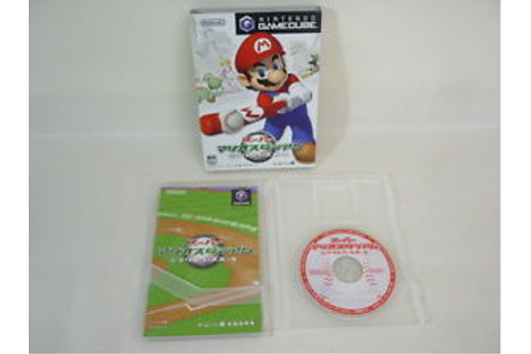 SUPER MARIO STADIUM Miracle Baseball Game Cube Nintendo ...