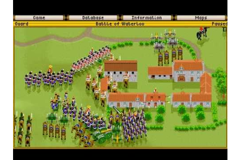 IE 1 PC games review - Fields of Glory (1993) - YouTube