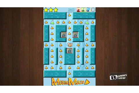 Mouse Maze Free Game - iPhone Gameplay Preview - YouTube