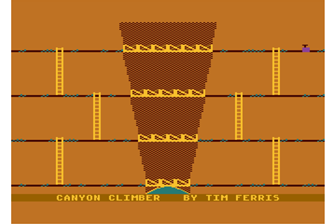 Download Canyon Climber (Atari 8-bit) - My Abandonware