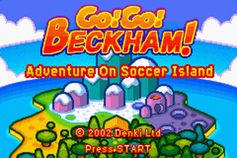 Play Go! Go! Beckham! - Adventure on Soccer Island ...