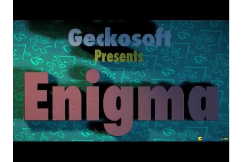 Enigma gameplay (PC Game, 1996) - YouTube