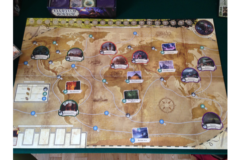 Eldritch Horror unboxing | Tim's Board games