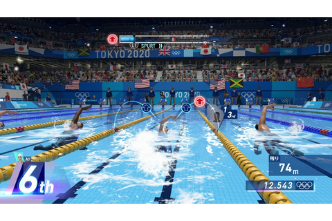 Olympic Games Tokyo 2020: The Official Video Game (PS4 ...