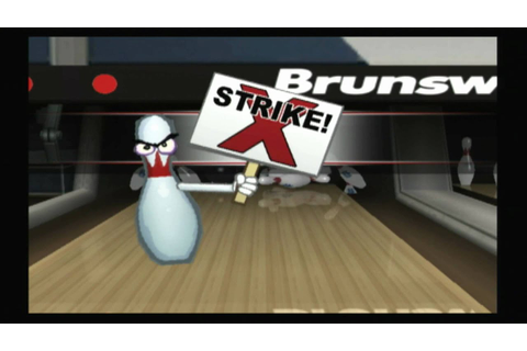 Classic Game Room HD - BRUNSWICK PRO BOWLING Wii review ...