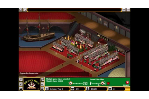 Hoyle Casino Empire, Campaign Map #6, Pirate's Gold - YouTube