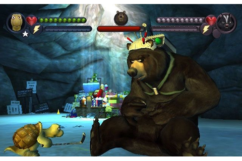 Over The Hedge Game - Free Download Full Version For Pc