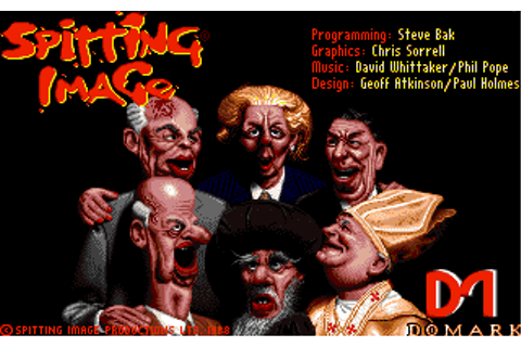 Download Spitting Image: The Computer Game - My Abandonware