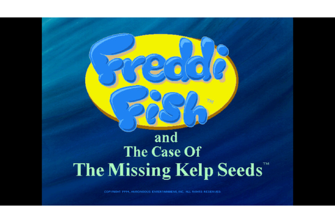 Freddi Fish and The Case of the Missing Kelp Seeds - Buy ...