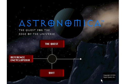Astronomica: The Quest for the Edge of the Universe ...