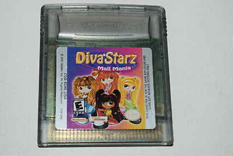 Diva Starz Mall Mania Nintendo Game Boy Color Video Game ...