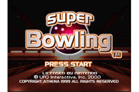 Super Bowling (USA) ROM