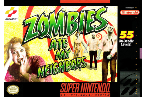 Zombies Ate My Neighbors SNES Super Nintendo