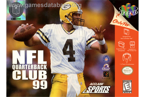 NFL Quarterback Club '99 - Nintendo N64 - Games Database