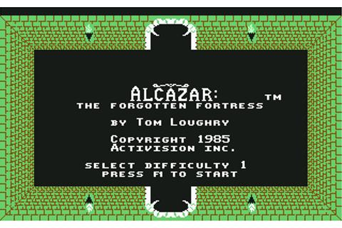 Download Alcazar: The Forgotten Fortress - My Abandonware