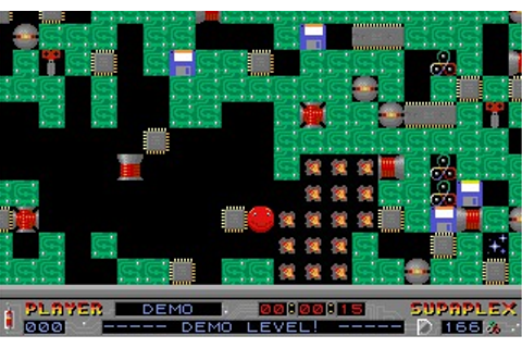 Supaplex (DOS) Game Download