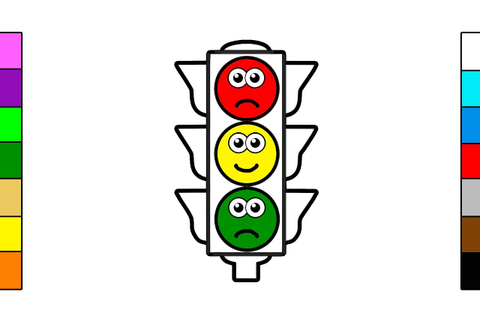 Traffic Light Drawing | Free download on ClipArtMag