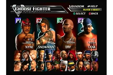 Def Jam Vendetta - Handicap Match CVI - YouTube