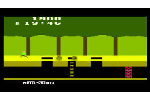 Atari 2600 Games Pitfall! (1982) - YouTube