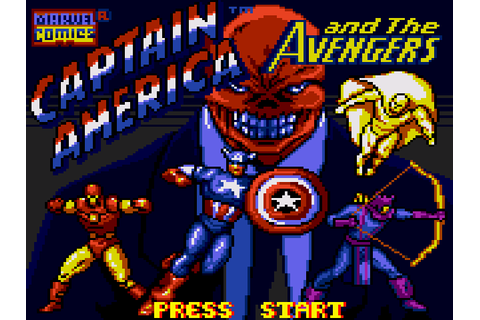 Captain America and the Avengers Download Game | GameFabrique