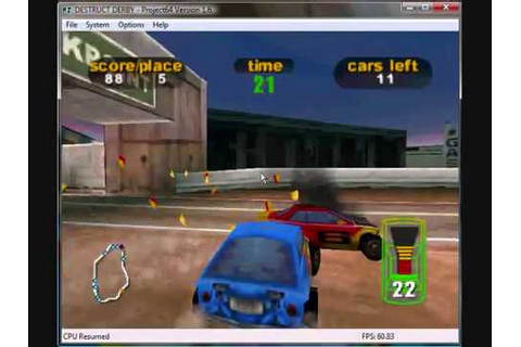 Destruction Derby N64: Baja Buggy at Terminal Impact First ...