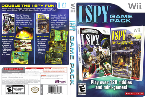 SIPE7T - I SPY Game Pack