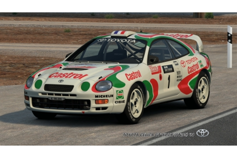TOYOTA CELICA GT-FOUR (ST205) '98 - Gran Turismo & Video ...