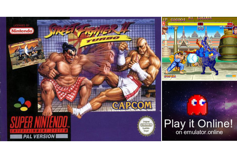 Play Street Fighter 2 Turbo - Hyper Fighting on Super Nintendo