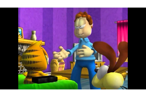 Garfield PS2 Game Opening Movie - YouTube