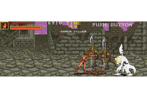 Warrior Blade: Rastan Saga Episode III Screenshots for ...