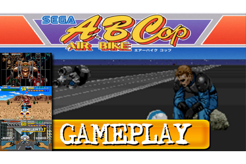 A.B. COP (Arcade) - Game play - YouTube