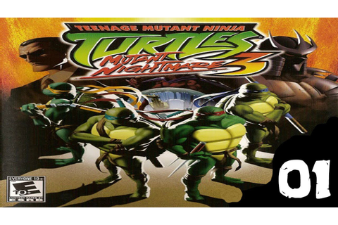 Teenage Mutant Ninja Turtles 3: Mutant Nightmare 100% ...