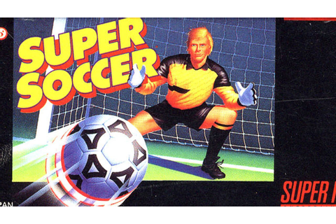 Classic Game Room - SUPER SOCCER review for Super Nintendo ...