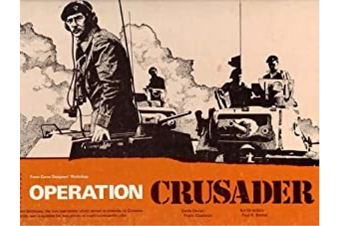 GDW: Operation Crusader Board Game