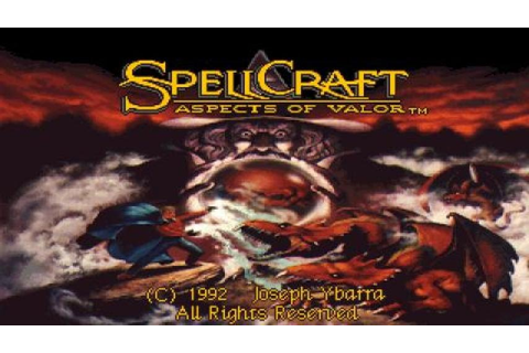 SpellCraft: Aspects of Valor gameplay (PC Game, 1992 ...