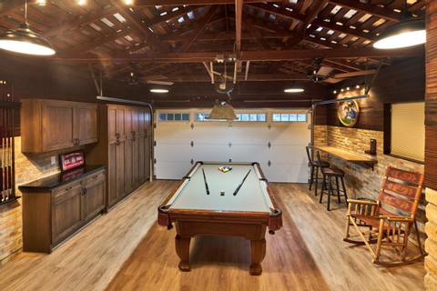 Garage Game Room … | cool | P…