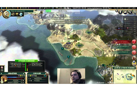 Civilization 5 Ottoman Empereur game [FR] 7/13 - YouTube
