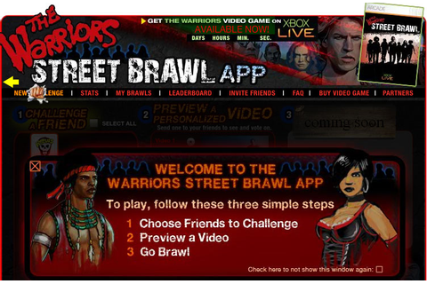 "Warriors-themed ""Street Brawl"" Facebook Game Launches"