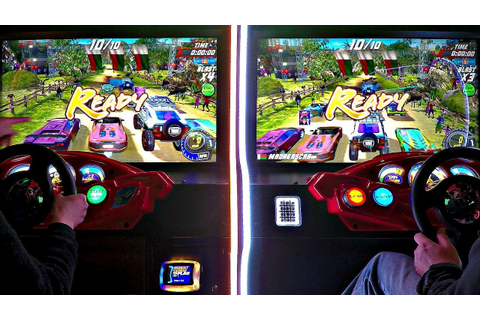 ARCADE 2 Player Versus Games Dirty Drivin' & Cruis'n Blast ...