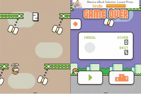 Flappy Bird Creator Unveils His Next Game - Swing Copters ...