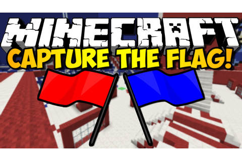 Minecraft - Capture the Flag Game w/ iHasCupquake & Redb15 ...
