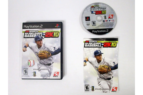 Major League Baseball 2K10 game for Playstation 2 ...