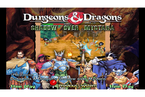 Dungeons & Dragons - Shadow Over Mystara (1996) Capcom ...